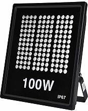 HimanJie Projecteur LED Extérieur 100W 10000LM