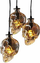 Hines Crâne Verre Petit Plafond Lampe Suspension