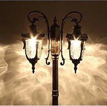 Hines Lampe De Colonne De Poteau IP55 Lampe De