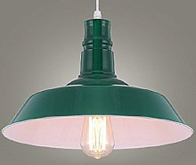 Hines Loft Rétro Vintage Pendentif Lampe Fer