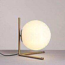Hines Moderne Creative Shade Ball Lune Globe Verre