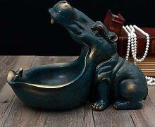 Hippo 3D, Statue, accessoires de décoration pour