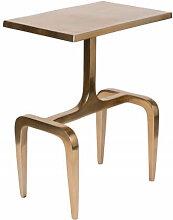 HIPS - Table basse d'appoint en aluminium doré