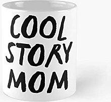 Histoire cool MOM MOM Tasse classique Meilleur