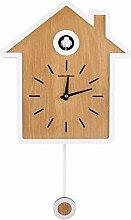 HJQL Horloge Murale, Horloge À Coucou Design De