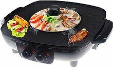 HJSGXXN Barbecue De Table Électrique,Grills