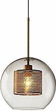 HJW Boule En Verre Pendant Light Nordic Light