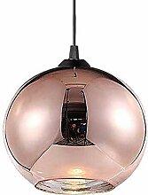 HJW E27 Pendentif Verre Nordic Light Retro Style 1