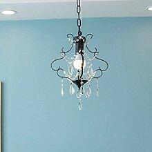HJW Éclairage Pratique Lampe Pendentif En Cristal