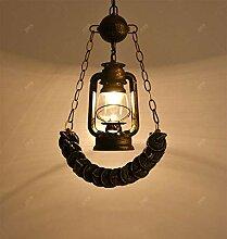 HJW Pendentif Lampe/Créatif Industrial Style