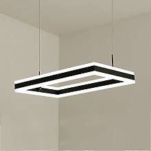 HJW Pendentif Lampe Led Rectangulaires Lustres