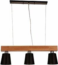 HJW Pendentif Lampe Trois Têtes Lustres À Led En