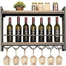 HJW Support de Rangement Durable Casier À Vin