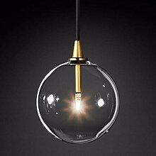 HJXDtech LED Luminaire Suspension, Abat-jour Boule
