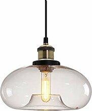 HJXDtech Suspension Luminaire vintage industrielle