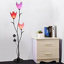 HKLY Lampadaire Décoration E27, Design Créatif