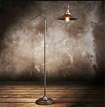 HKLY Lampadaire LED Vintage, Lampadaire sur Pied