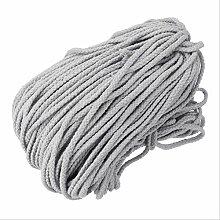 HKUWD 100 M 5 MM Coton Corde Tordue en Macramé