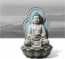 hkwshop Fontaine d'Intérieur Bouddha Tabletop