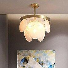 HLL Lustre, Tous Cuivre Moderne Lustre Lampe