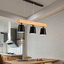 HLL Lustres, Lustre Led Light Light Simple Bar À