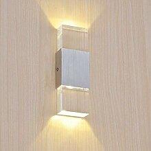 HLL Nouveauté Lampes, 6W Acrylique Applique