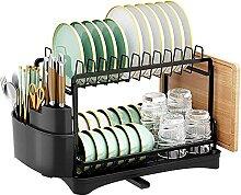 HLL Support de séchage à vaisselle pliable en
