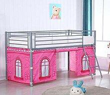 HLS Tente pour lit mezzanine - Château rose