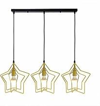 HLY Lampe de salon moderne, abat-jour au plafond