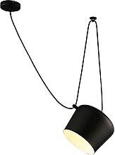 HLY Lampe de salon moderne, abat-jour de plafond