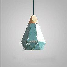 HLY Lampe de salon moderne, abat-jour industriel