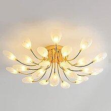 HLY Lampes d'art, plafonniers ronds modernes