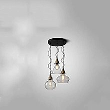 HLY Lustre Simple, Lampe Pendentif Lumière Lustre