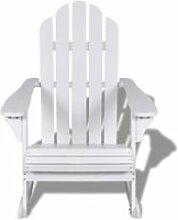 HMF© Fauteuil à bascule Chaise de Salon Décor -