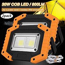 HMLIGHT 2 COB 30W 800lm LED Light Work, LED