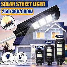 HMLIGHT 250W 480W 680W Rue Solar Light Éclairage