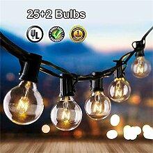 HMLIGHT 25ft G40 Globe Ampoule de lumières 25