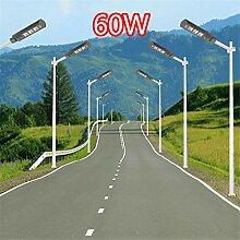 HMLIGHT 60W LED Rue lumière Solaire PIR