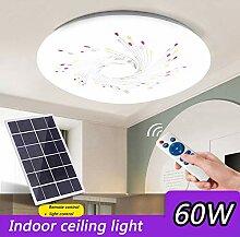 HMLIGHT LED Solaire Lampes de Plafond 60W LED