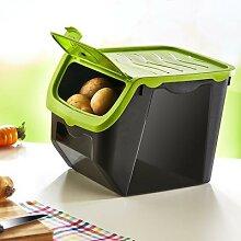 Hoblife – boîte de rangement pour ail, pommes