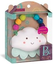 Hochet nuage-rain glow squeeze b toys