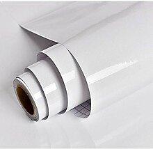 Hode Papier Adhesif pour Meuble Blanc 30cm X 3m