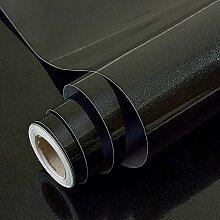 Hode Papier Adhesif pour Meuble Noir 30cm X 300cm