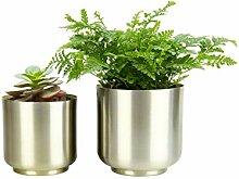 HofferRuffer Pot de fleurs 2 pots pour fleurs et