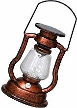 Holibanna Rétro Solaire Lampe à Pétrole Lampe