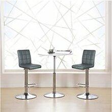 Hombuy®4pcs*tabourets de bar chaise fauteuil