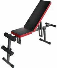 Hombuy® banc de musculation inclinaisons multiples