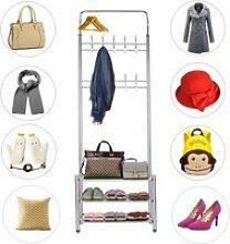 Hombuy® porte-manteau/ chaussures en métal