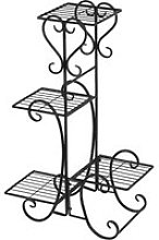 Hombuy® porte plantes en métal étagère echell