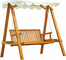 Homcom - Balancelle balancoire hamac banc fauteuil